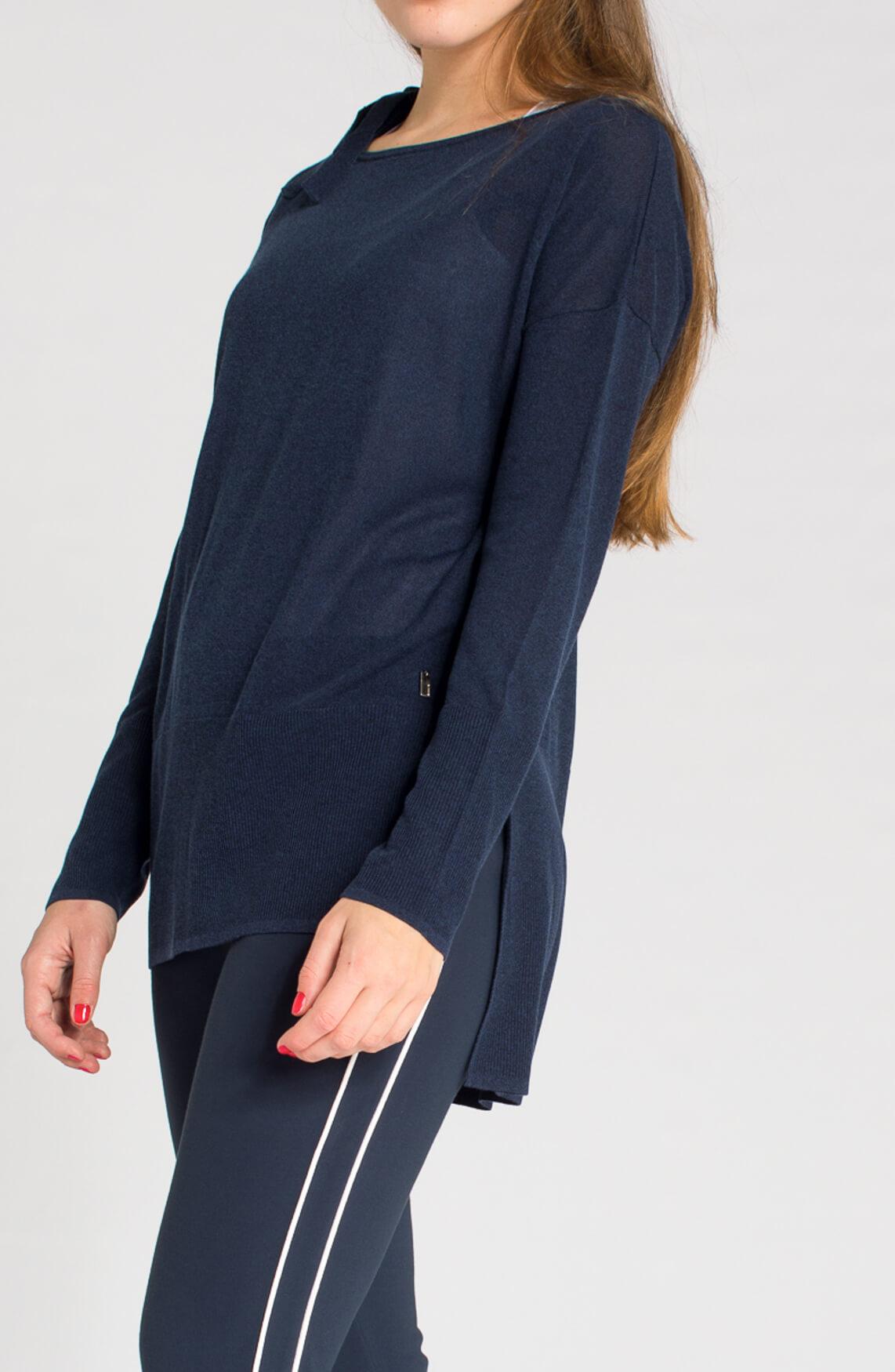 Anna Dames Pullover met strikdetail