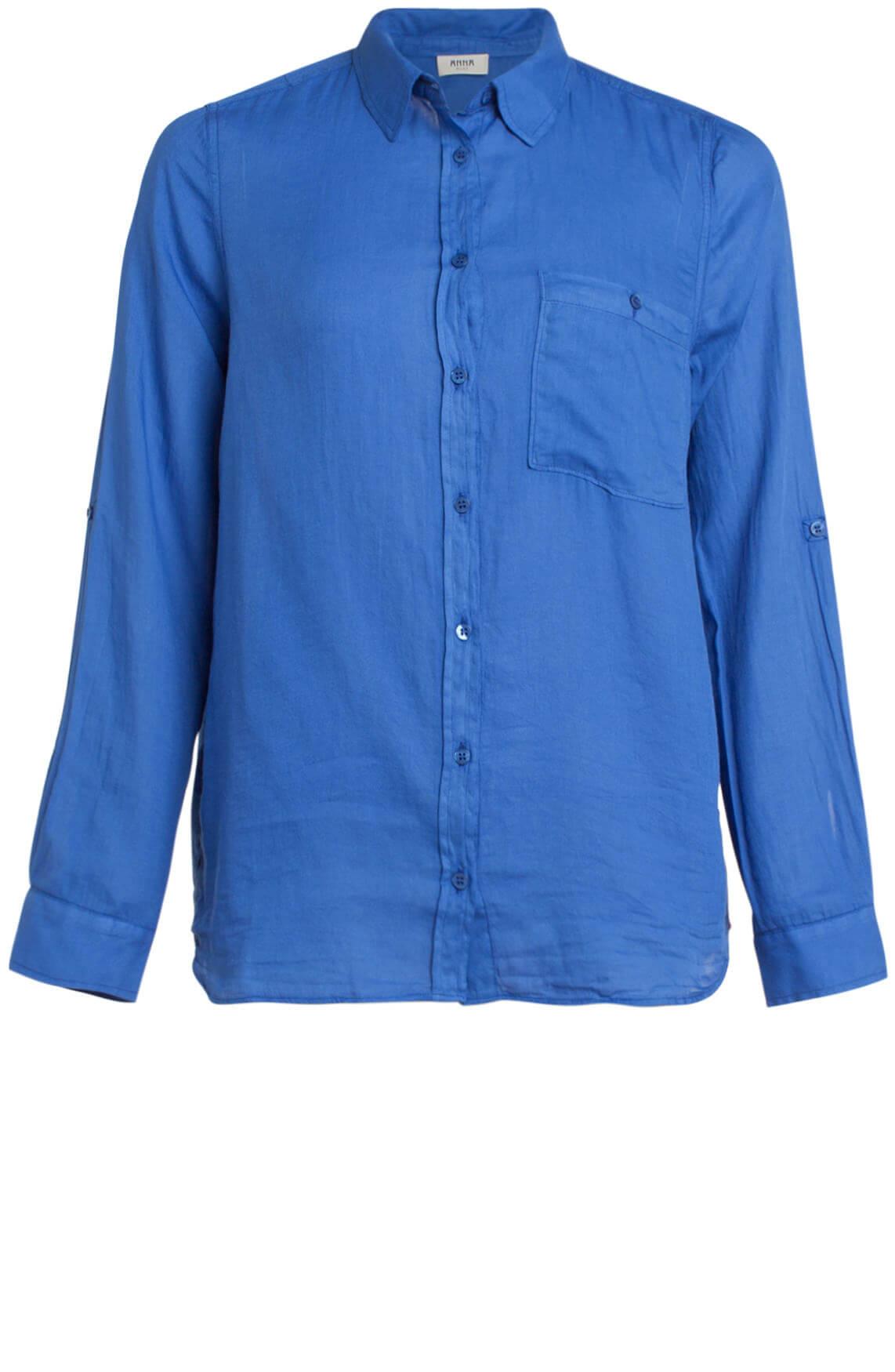 831617f14f6215 ... Anna Blue · Katoenen blouse blauw. Previous