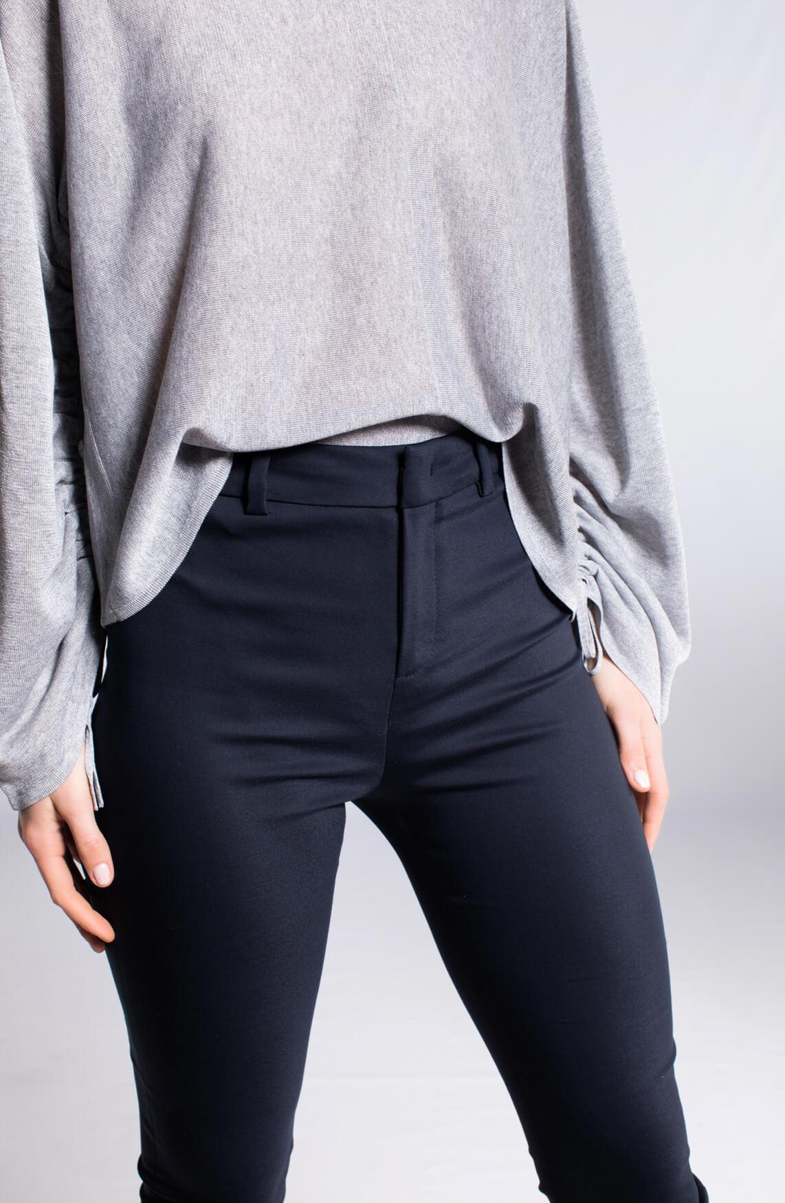 Drykorn Dames Winch chique pantalon marine Blauw