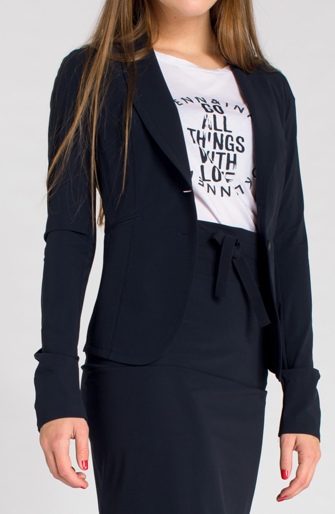 Penn & Ink Dames Blazer navy