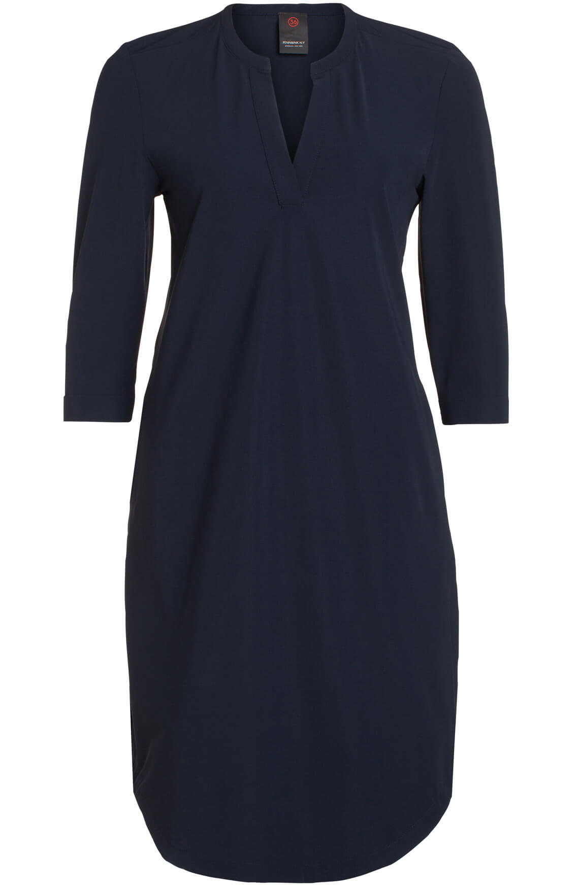 Penn & Ink Dames Casual jurk navy