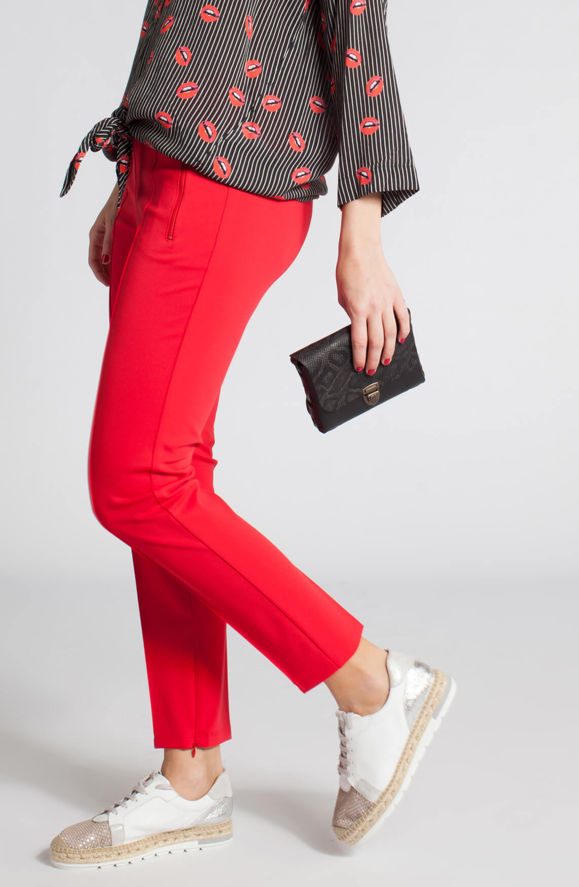 Cambio Dames Ros sportieve pantalon