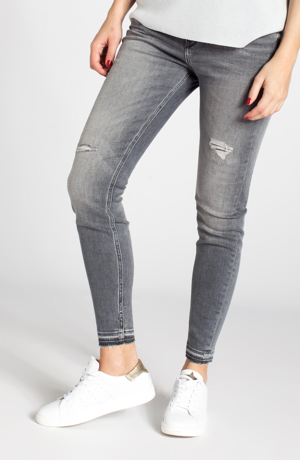 Drykorn Dames Need grijze jeans