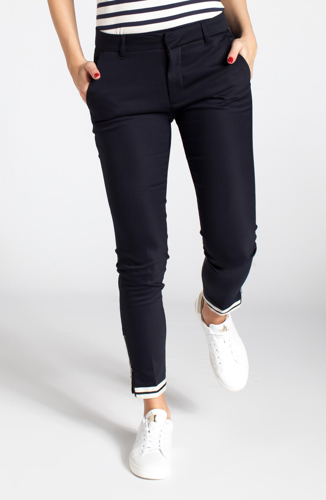Mos Mosh Dames Abbey zip pantalon