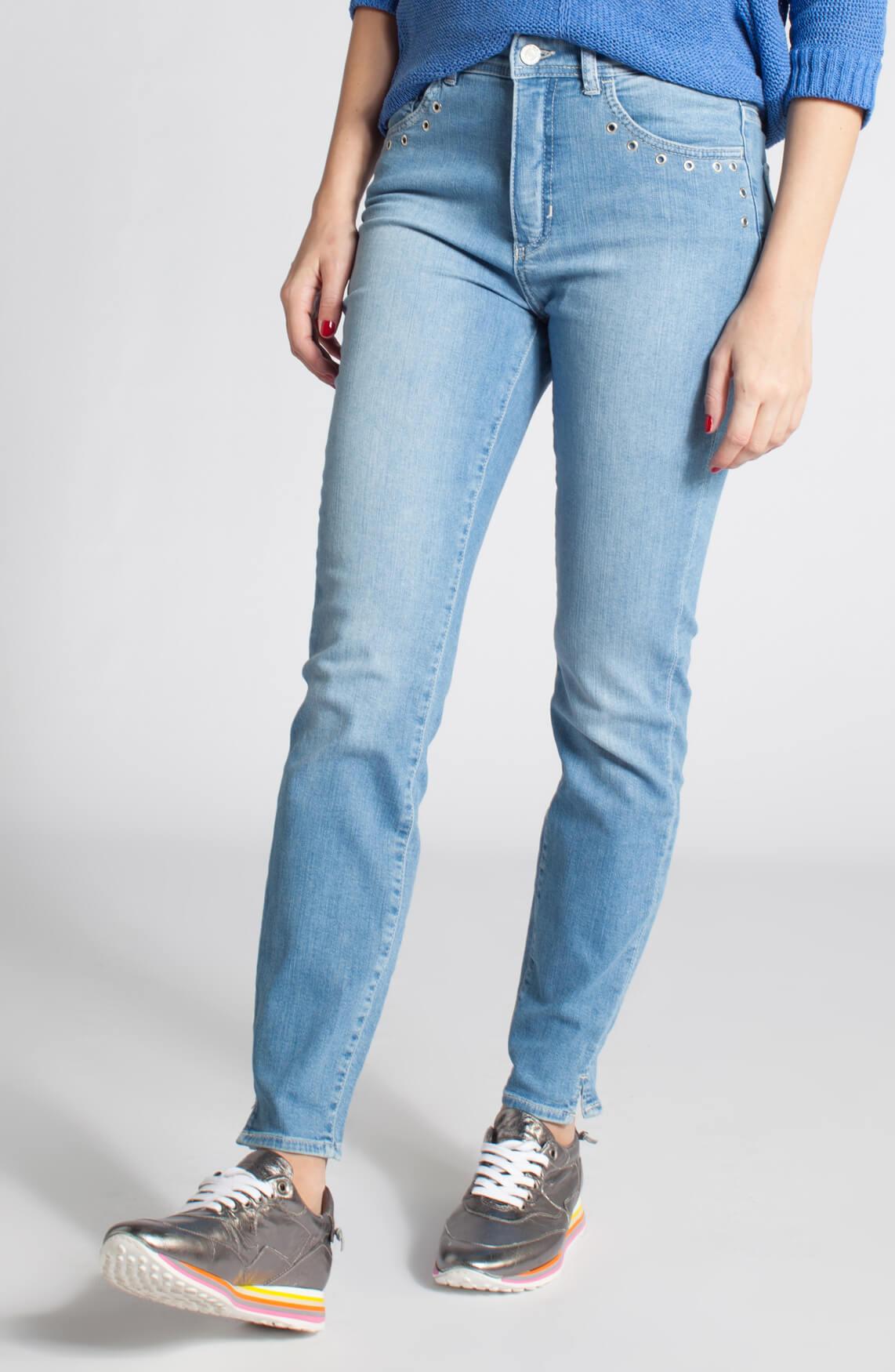 Rosner Dames Audrey jeans met eyelet detail 0