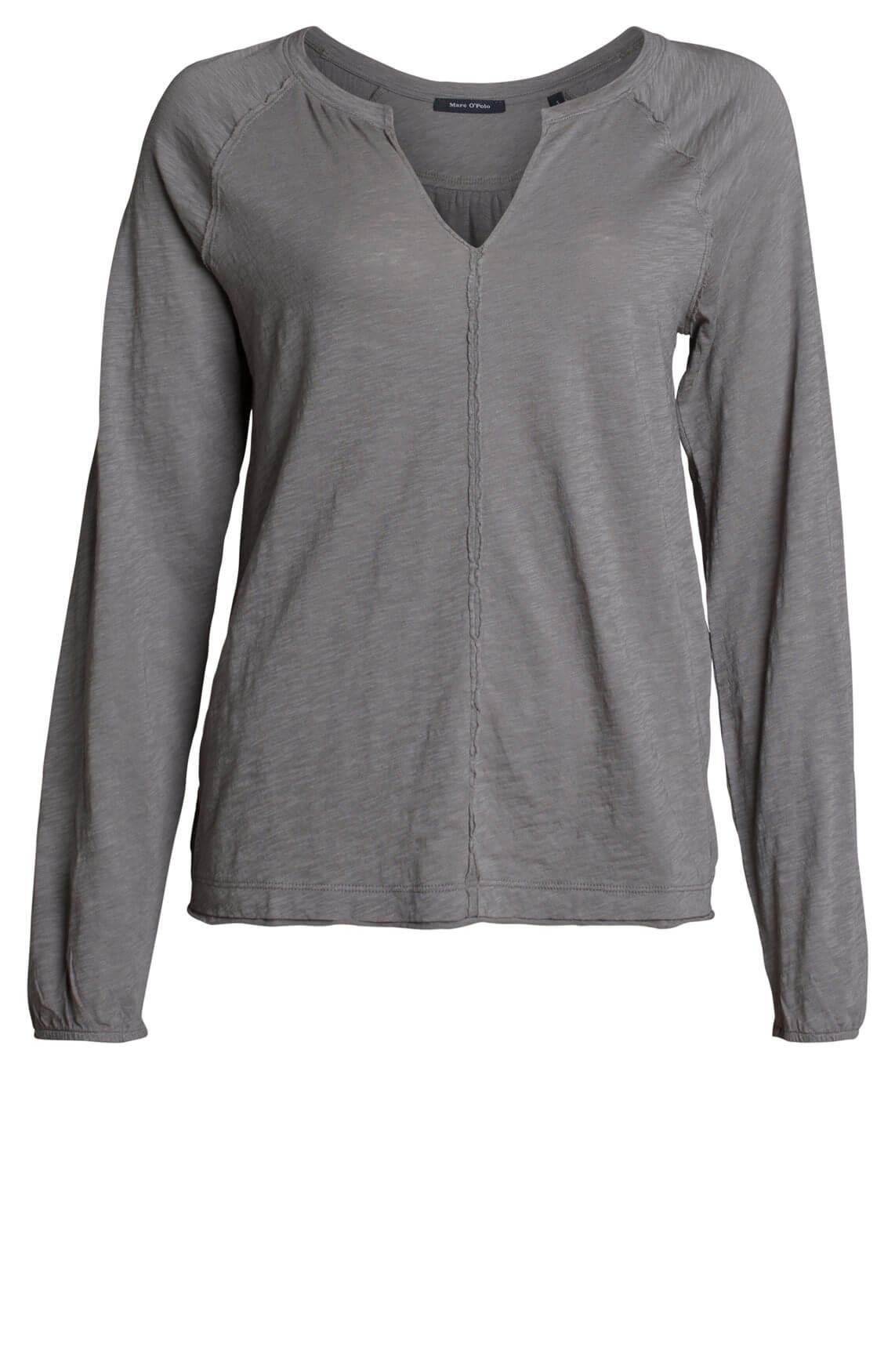 marc-opolo Dames Shirt met V-hals