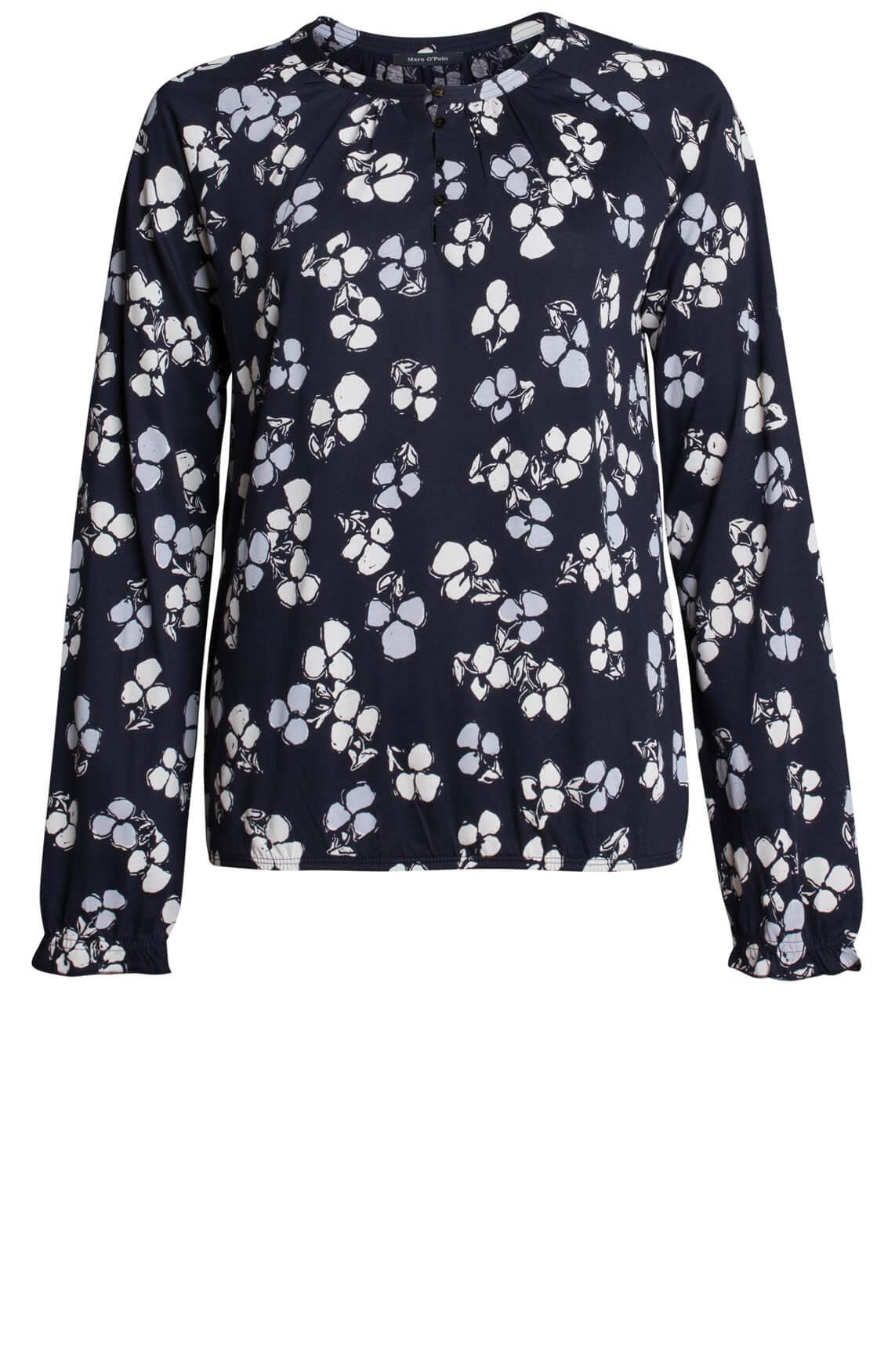 Marc OPolo Dames Shirt met bloemenprint