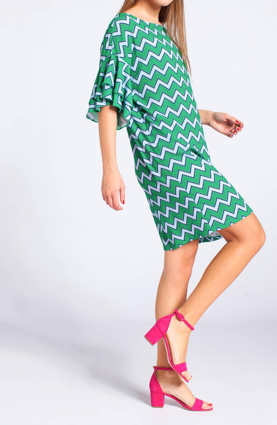 La Fée Maraboutée Dames Zigzag jurk