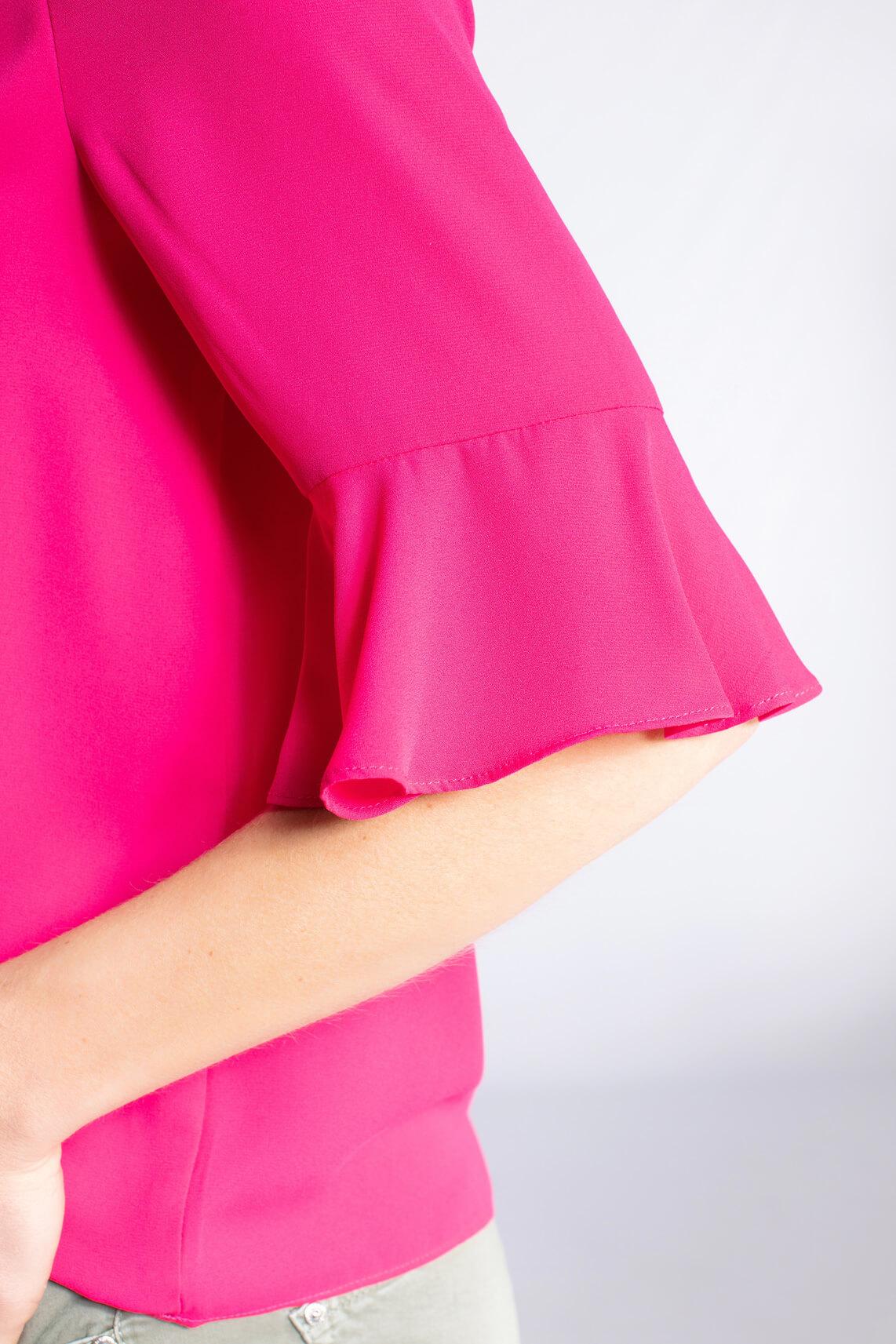 Kocca Dames Orange sierlijke blouse