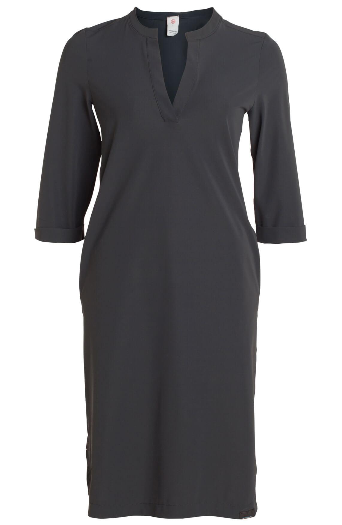 Penn & Ink Dames Casual jurk Grey