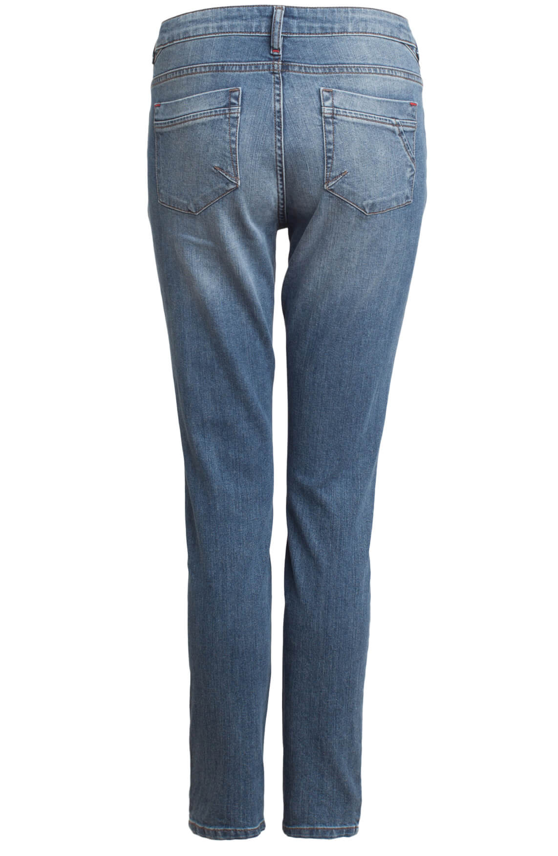 Anna Blue Dames Jeans met ritsen 0