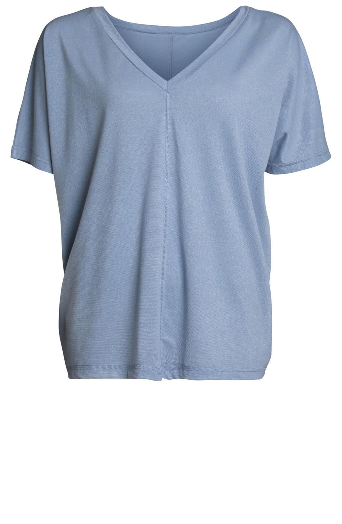 Drykorn Dames Adala glitter shirt