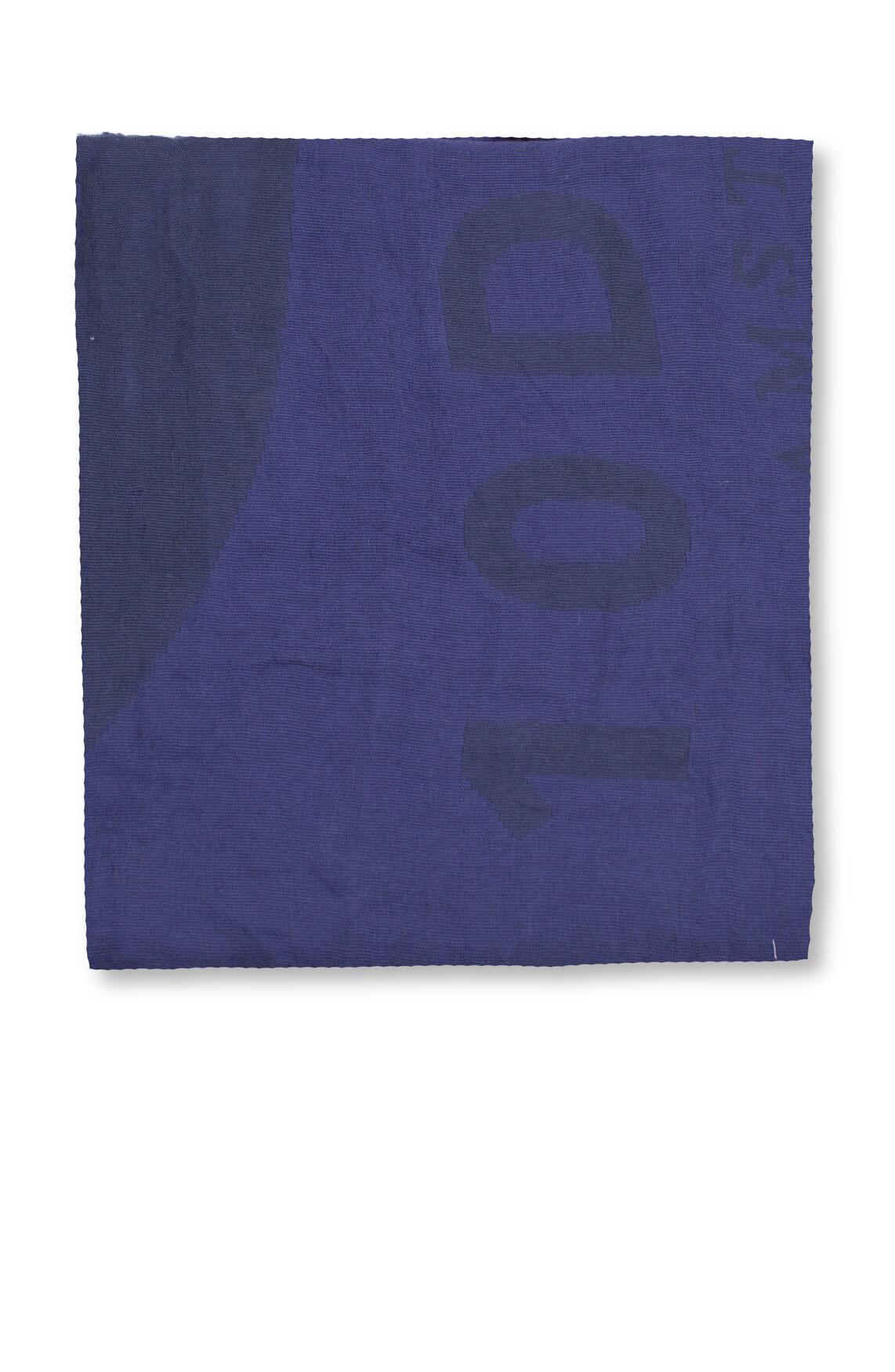 10 Days Dames Shawl met print Blauw