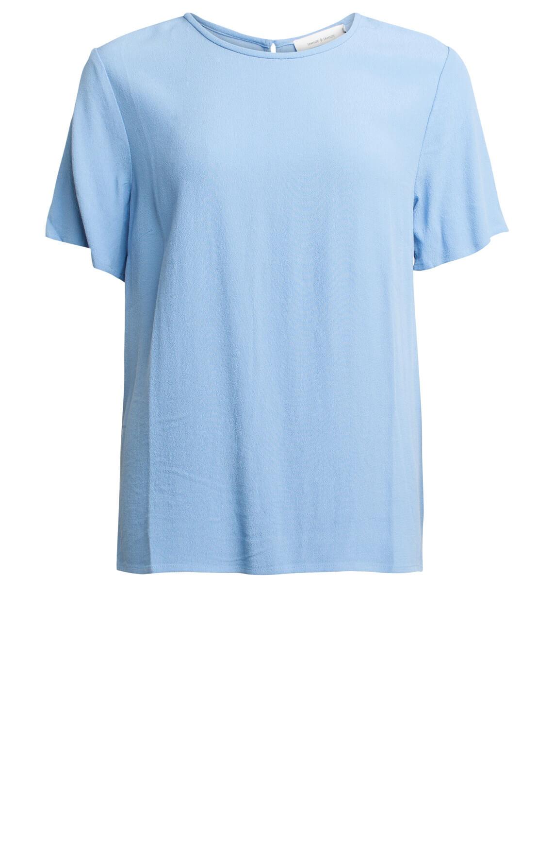 Samsoe Samsoe Dames Herdis shirt Blauw