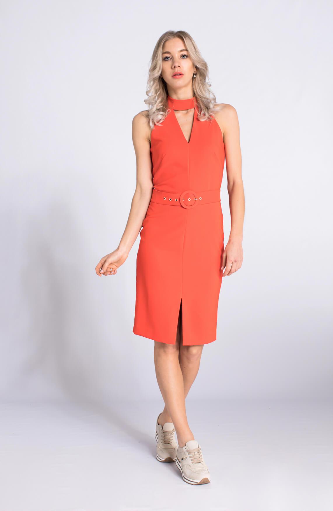 Kocca Dames Brody chique jurk Oranje