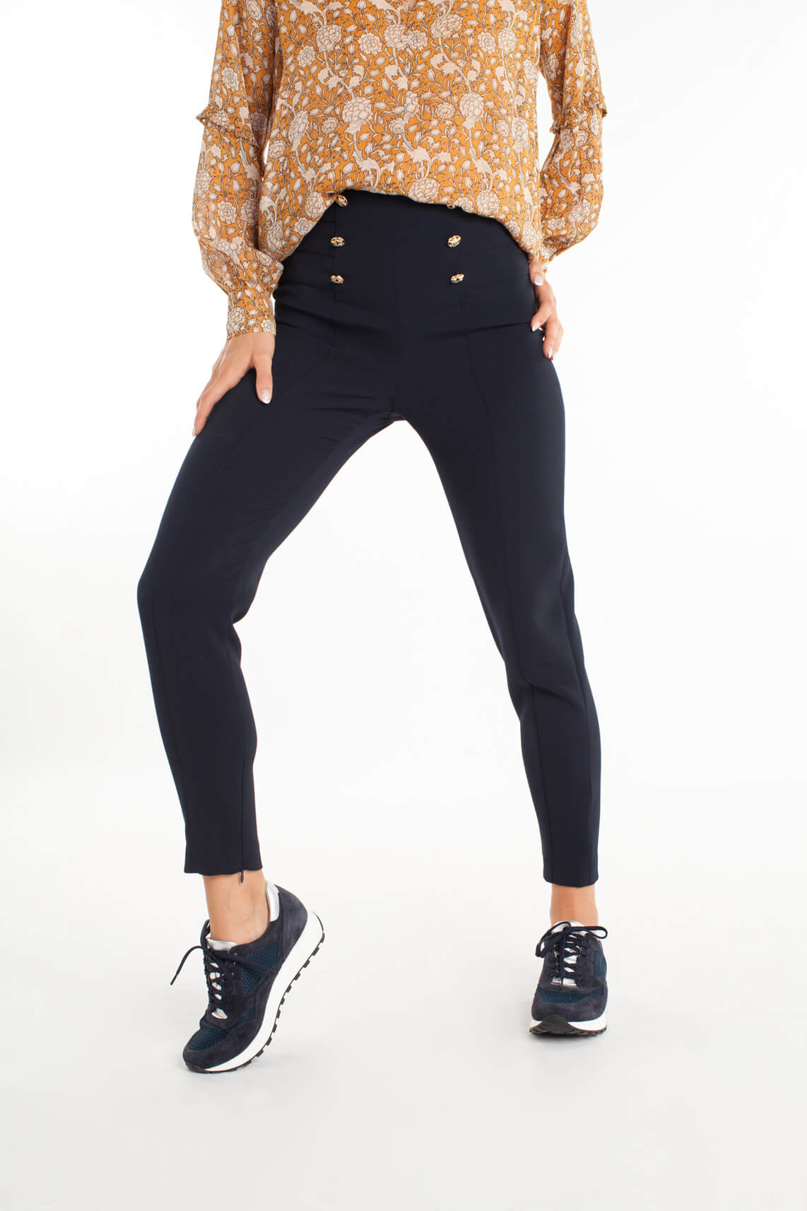 Kocca Dames Donb pantalon Blauw