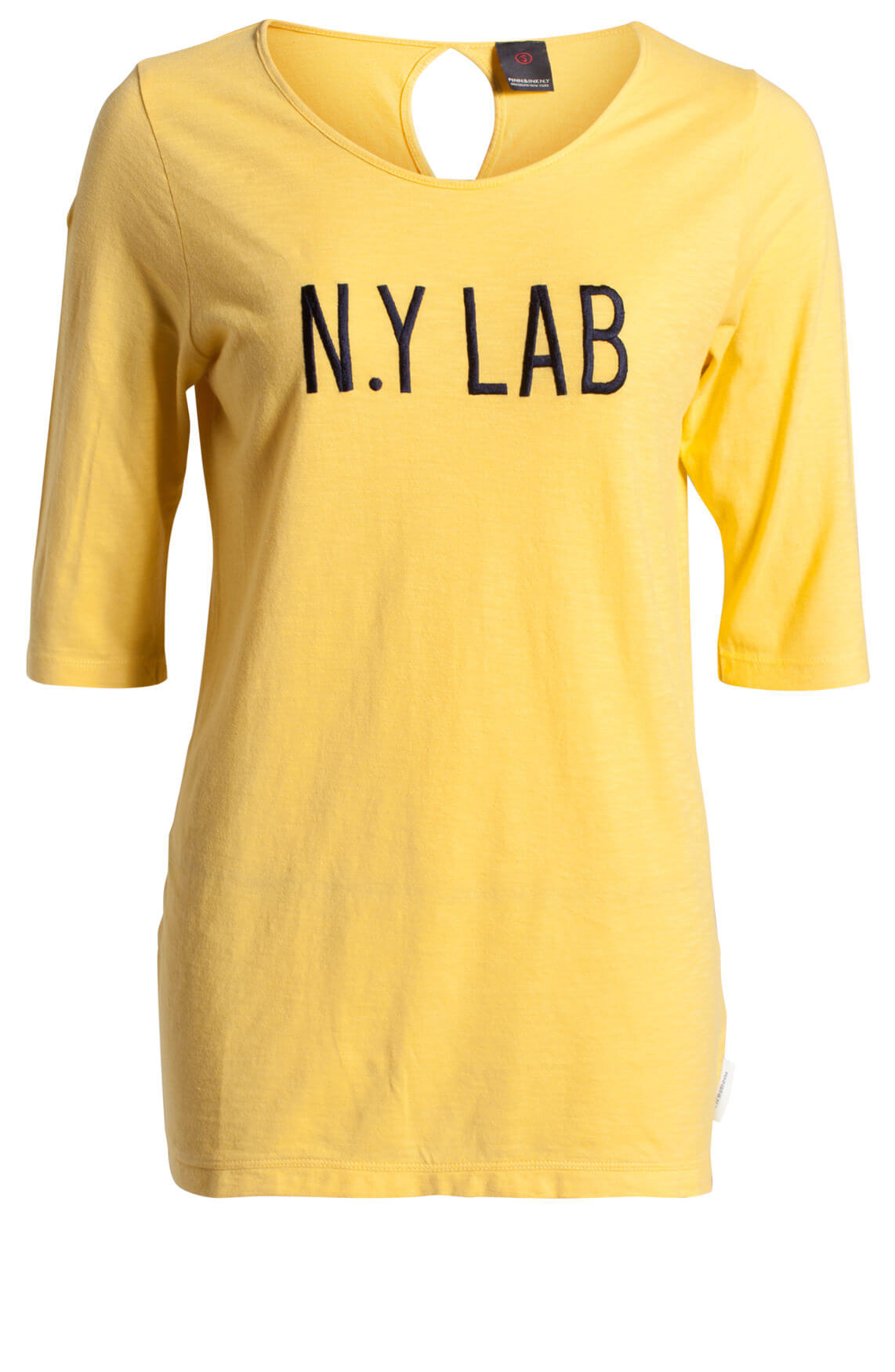 Penn & Ink Dames Shirt N.Y LAB geel