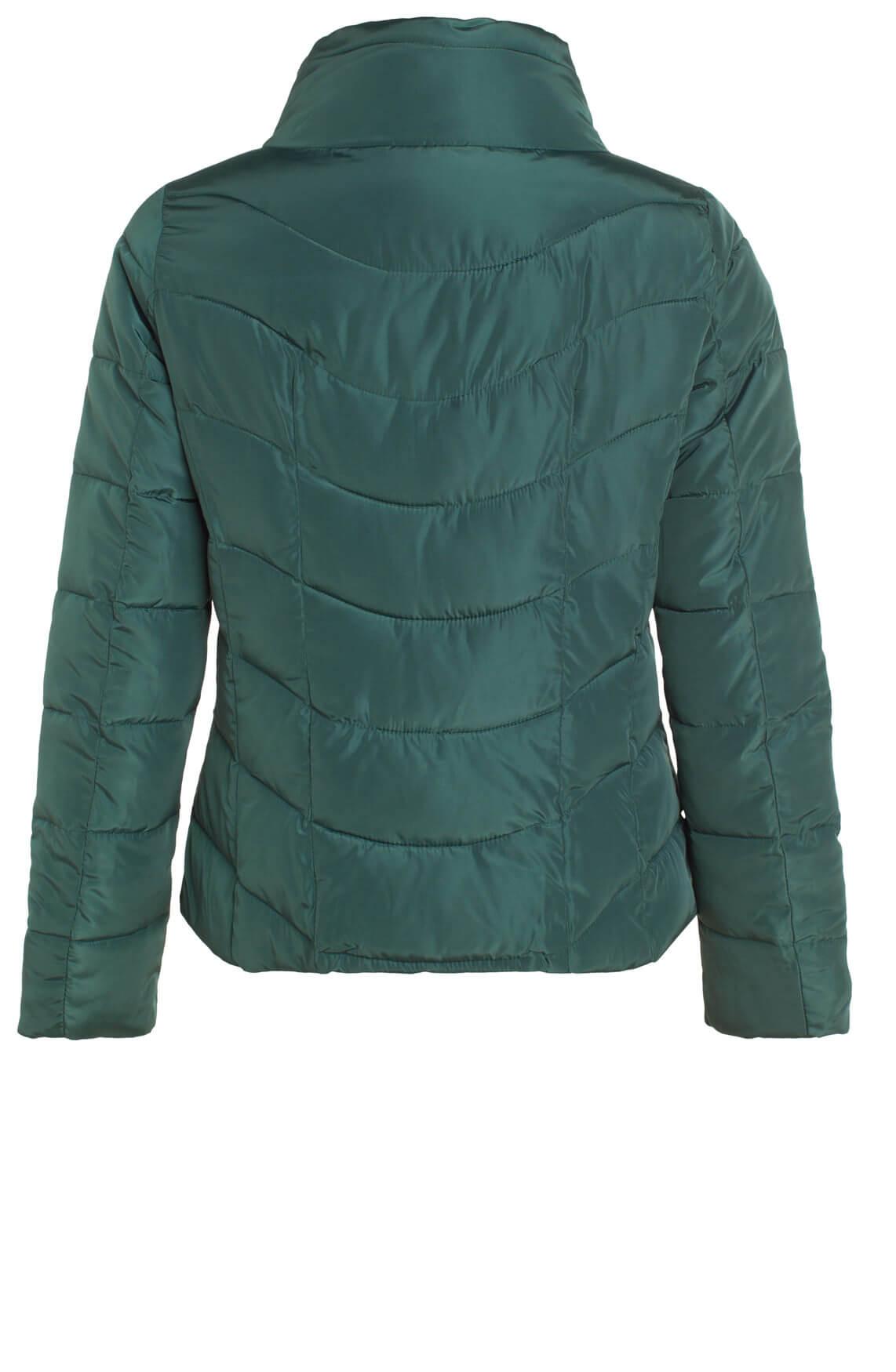 Kocca Dames Noa gewatteerde jas groen