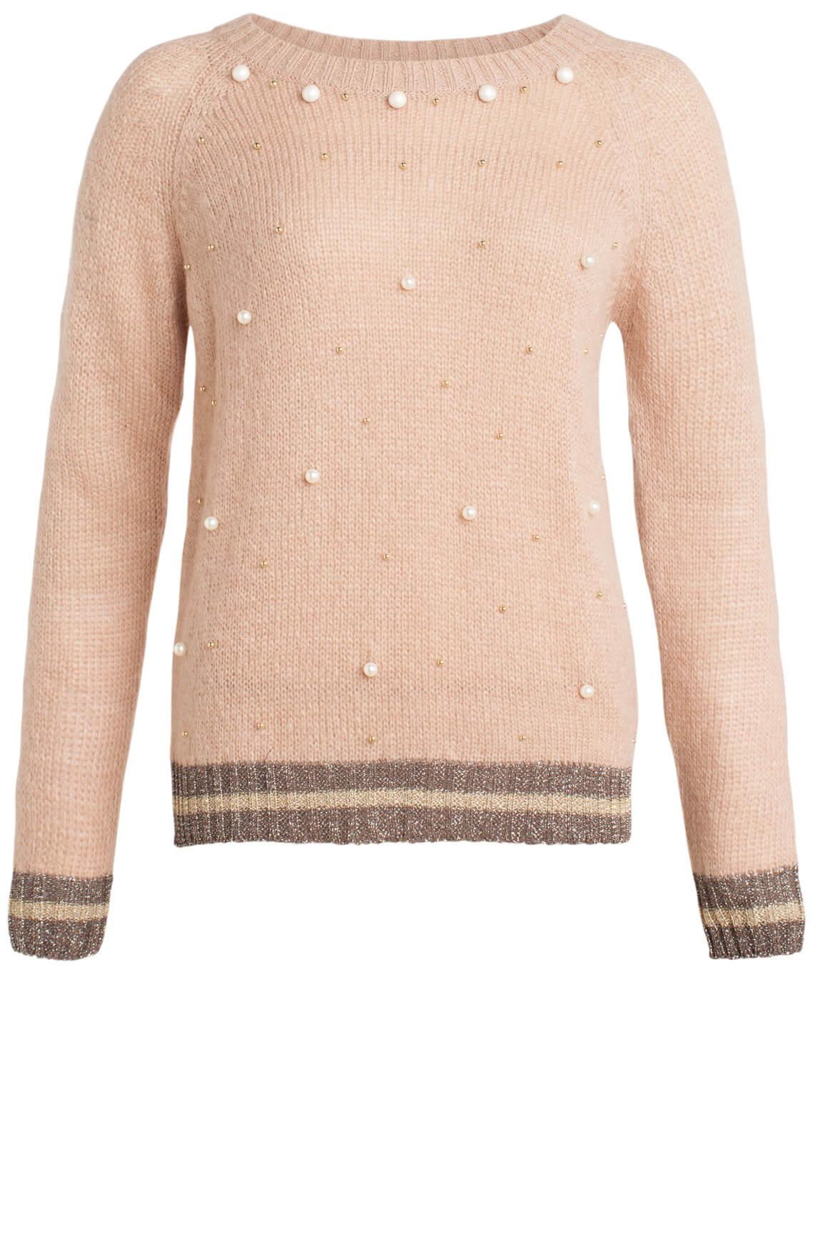 Kocca Dames Bonnie parel pullover roze