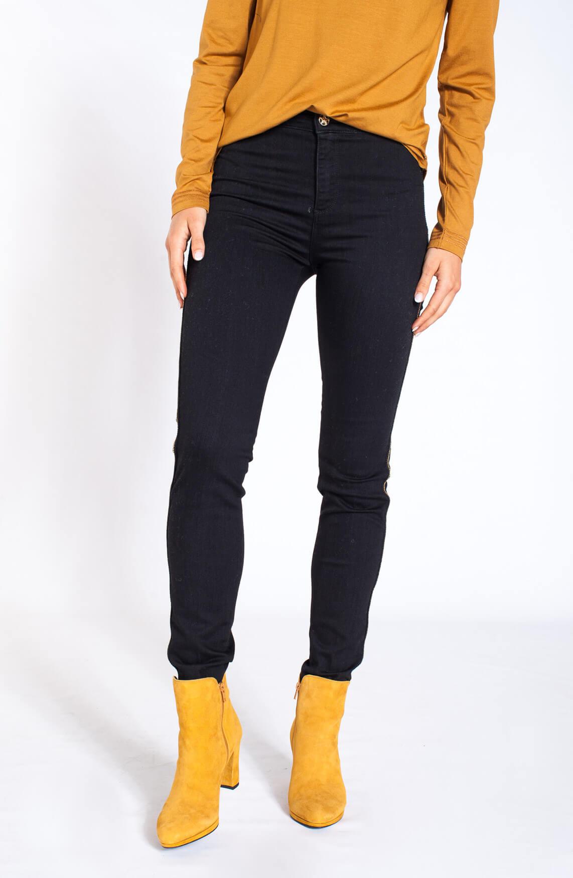 Kocca Dames Rebby skinny jeans zwart