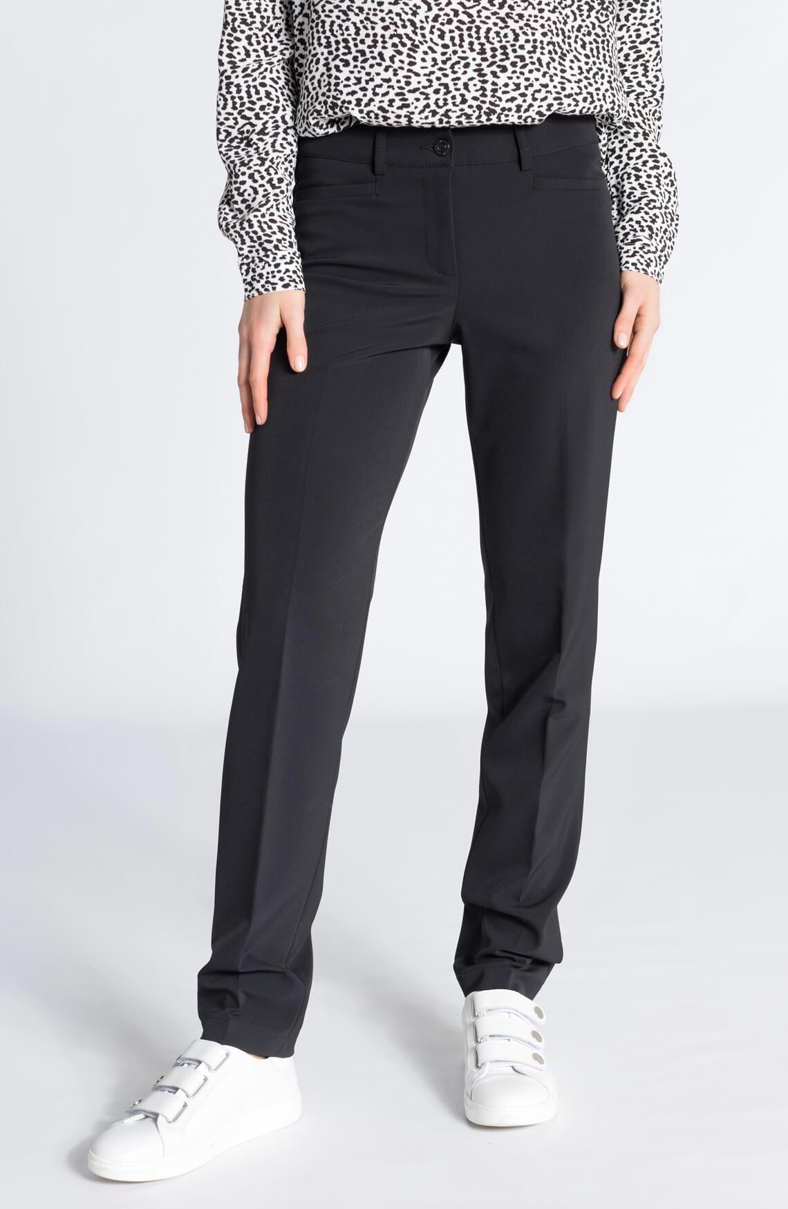 Cambio Dames Renira pantalon zwart zwart