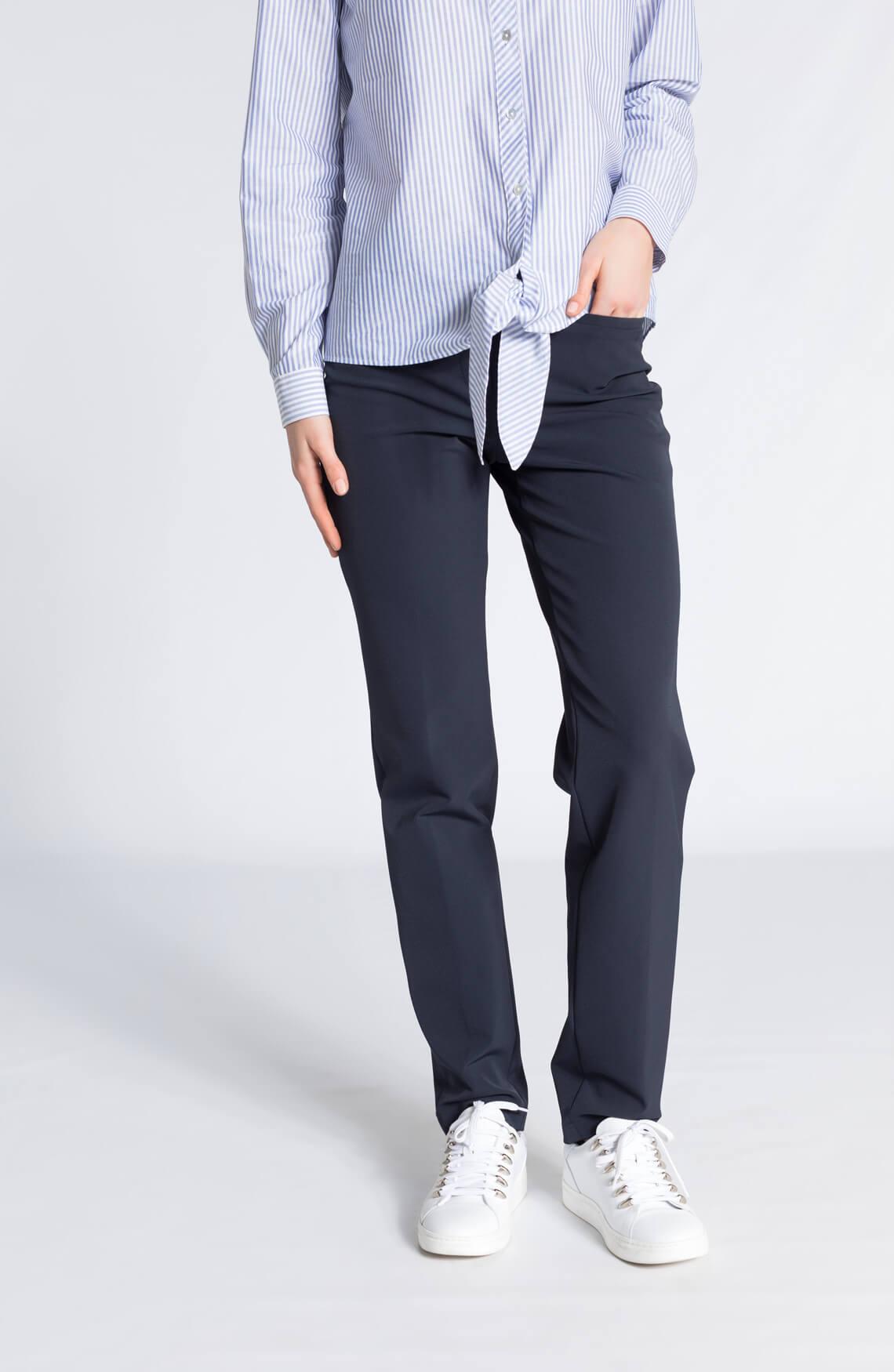 Cambio Dames Renira pantalon ink Blauw