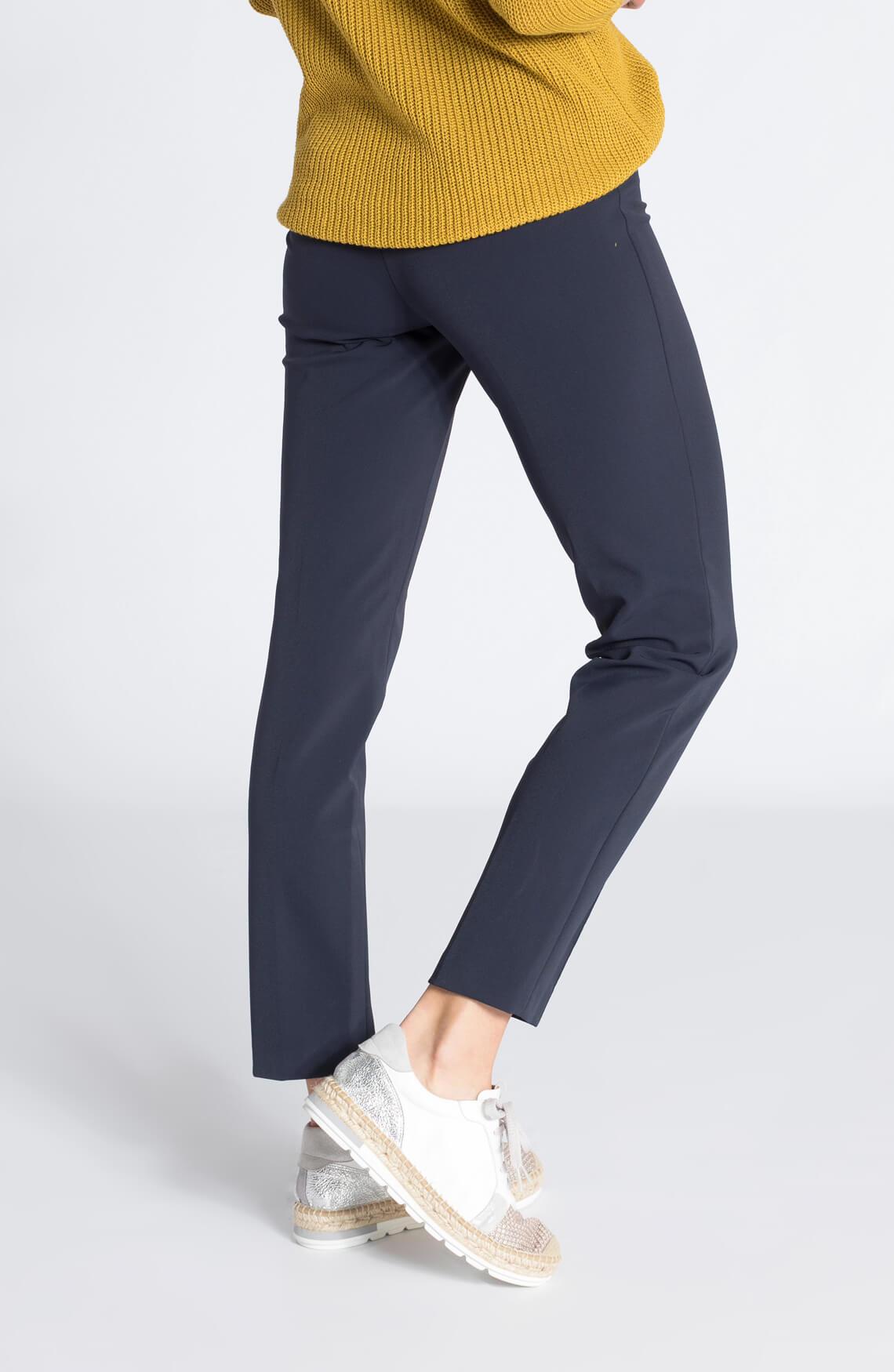 Cambio Dames Ros pantalon marine Blauw