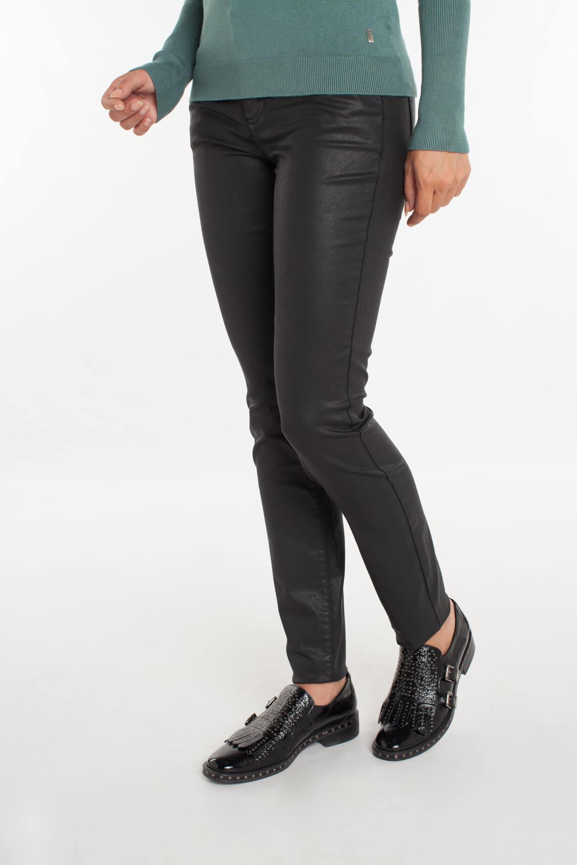 Rosner Dames Antonia gecoate broek zwart