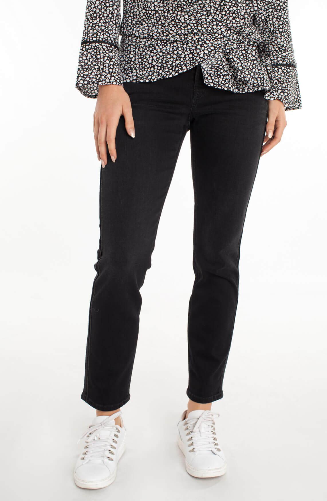 Cambio Dames Liu jeans met glitterbies zwart