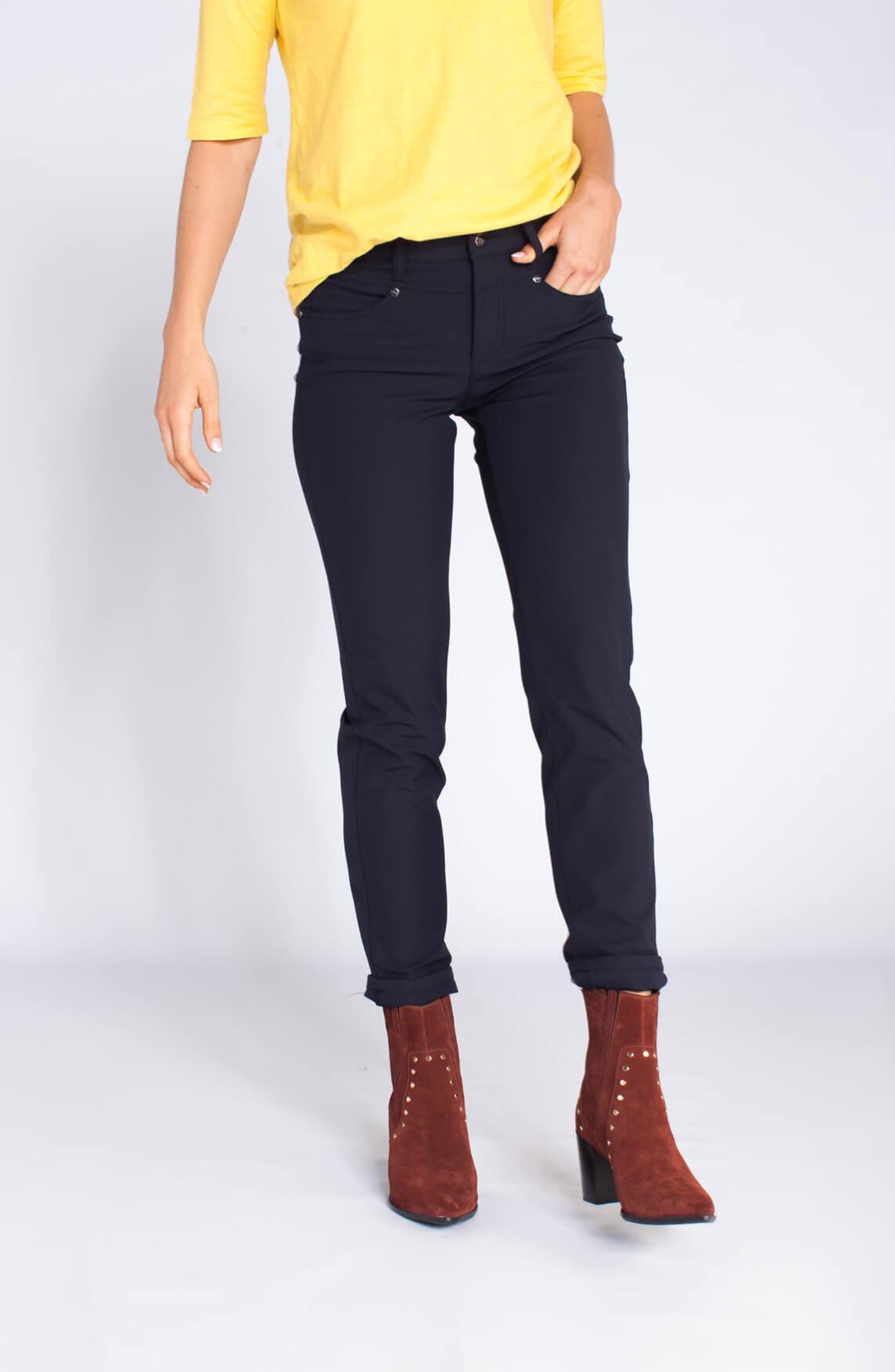Cambio Dames Posh pantalon blauw Blauw