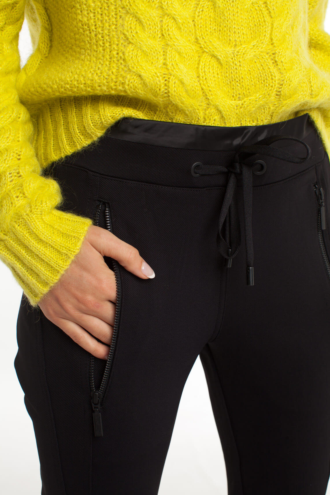 Cambio Dames Energy jogpantalon zwart