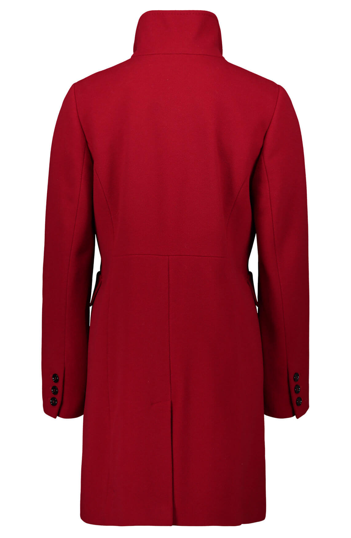 Gil Bret Dames Wollen mantel met cashmere Rood