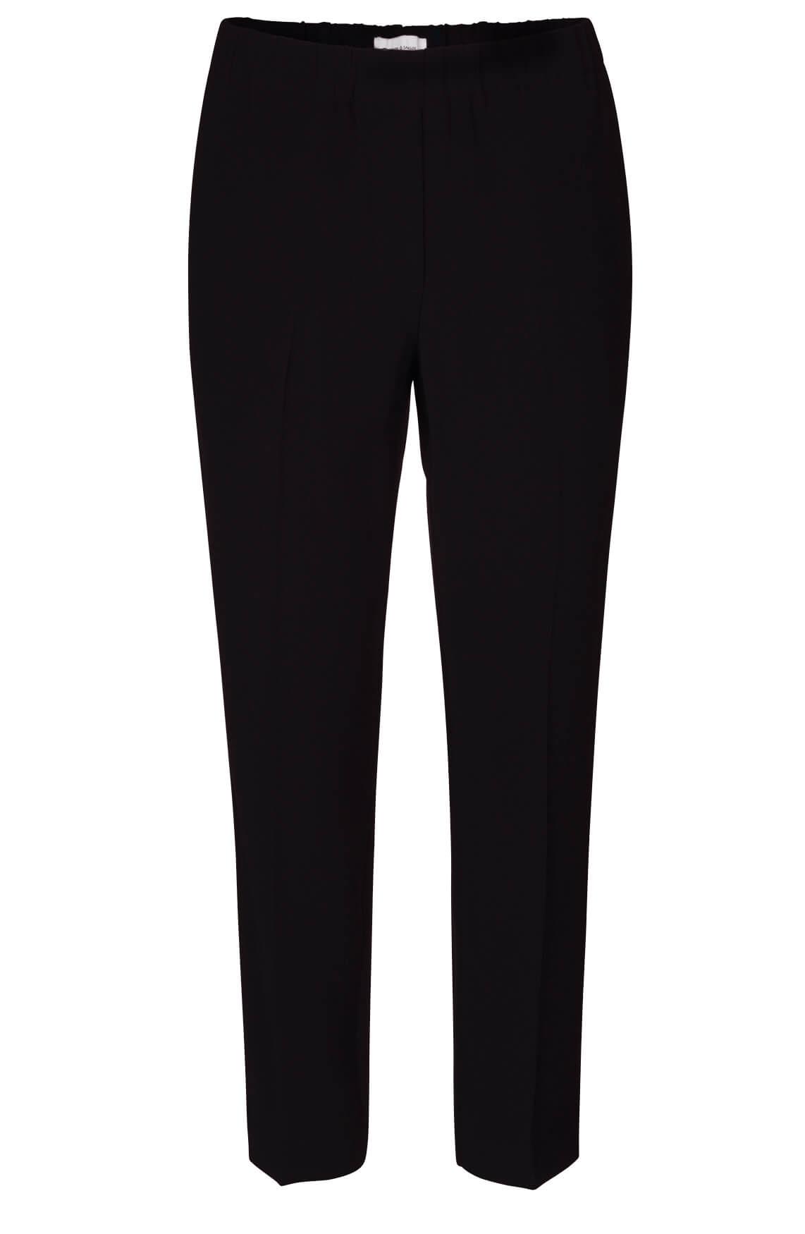 Samsoe Samsoe Dames Hoys comfortabele broek zwart