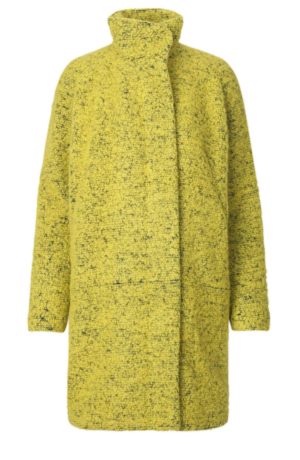 Samsoe Samsoe Dames Wollen jas geel