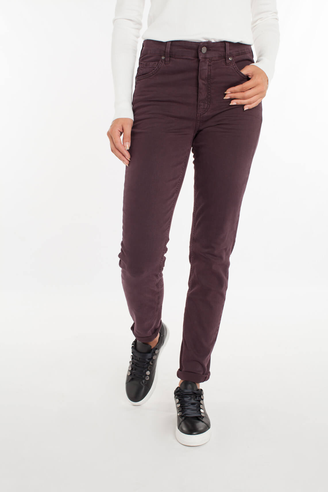 Rosner Dames Audrey jeans Paars