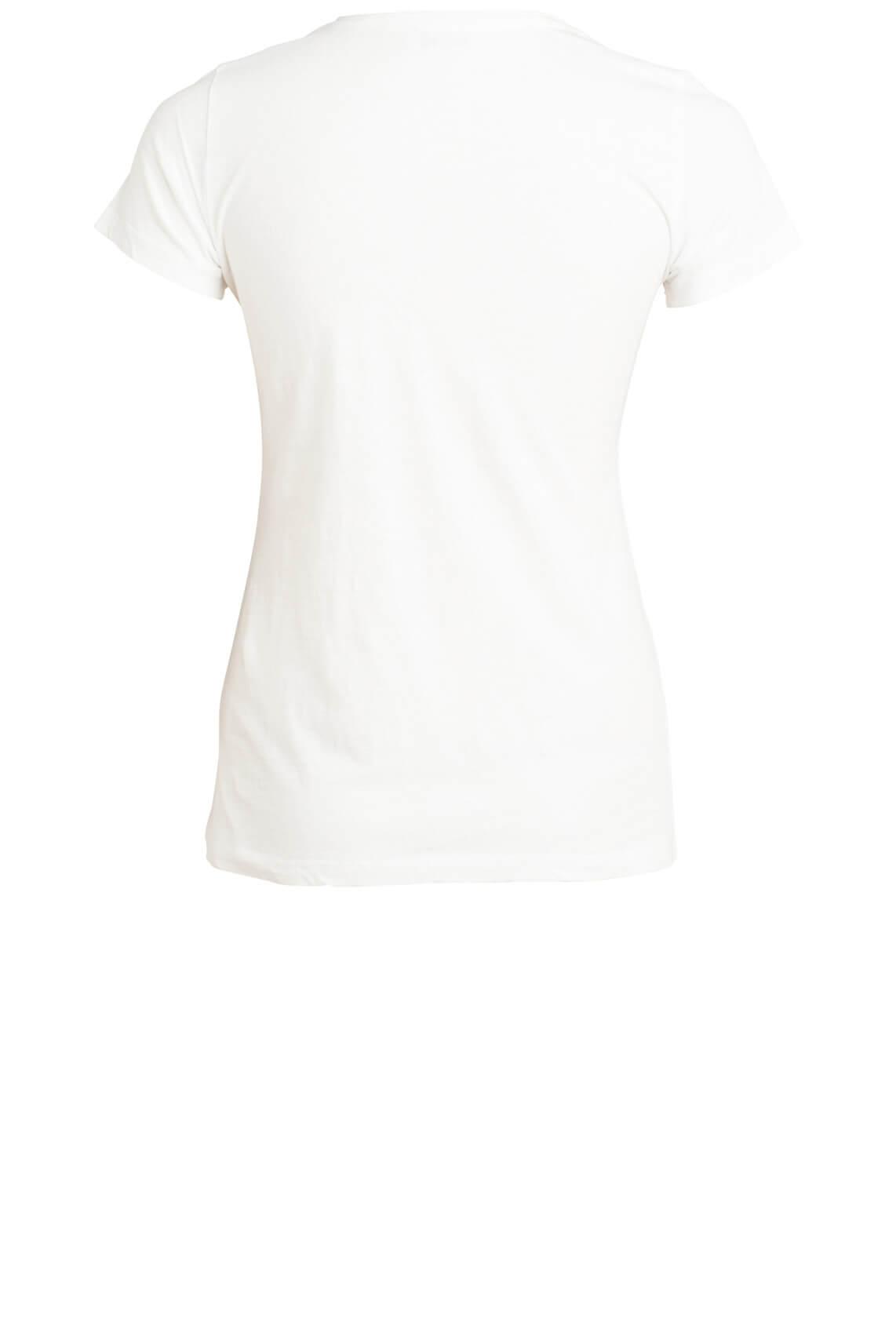Mos Mosh Dames Jennertee shirt wit