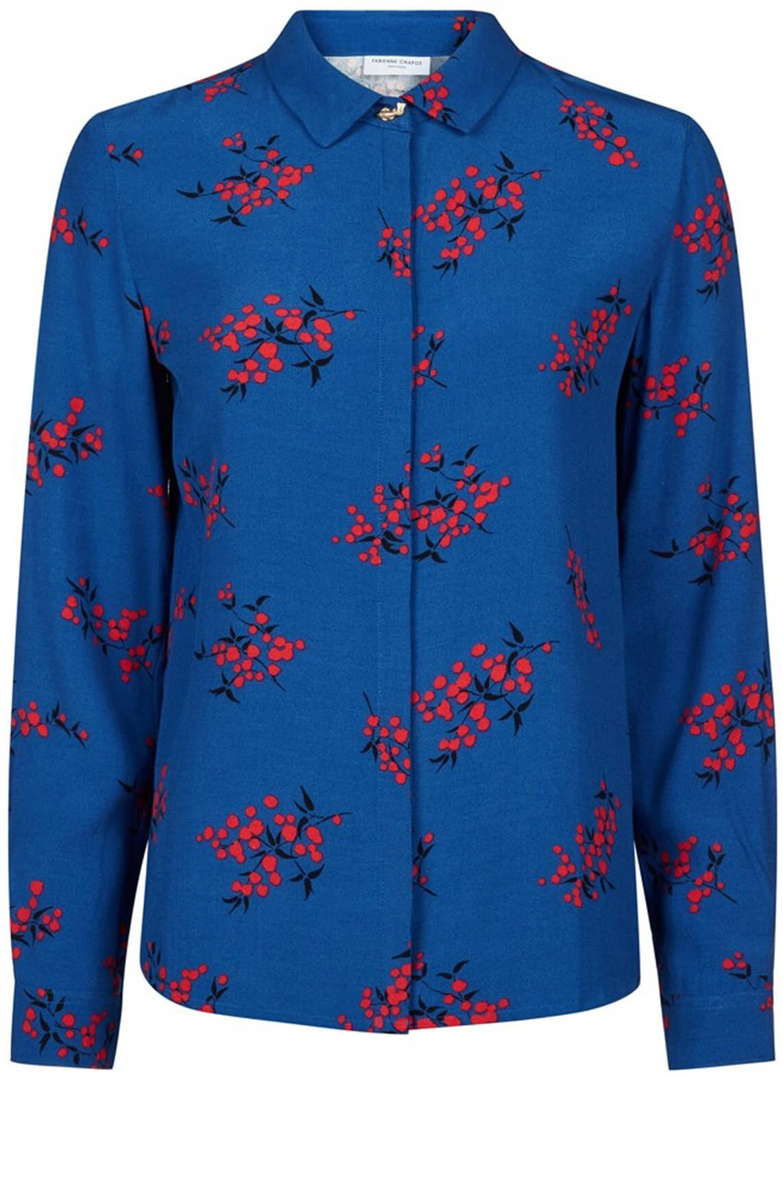 Fabienne Chapot Dames Perfect blouse met bloemenprint Blauw