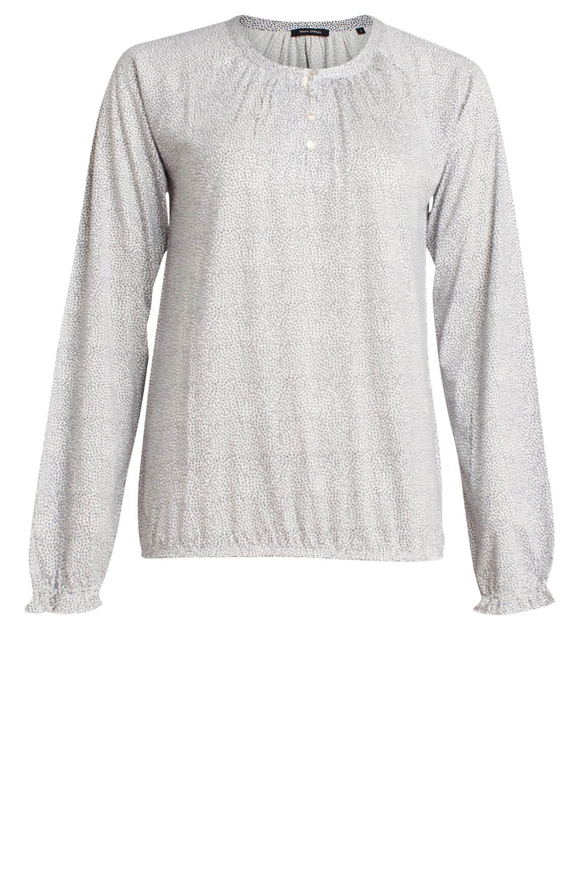 e6d8bc91847 Marc O'Polo Dames Shirt met knoopjes Ecru | Anna van Toor