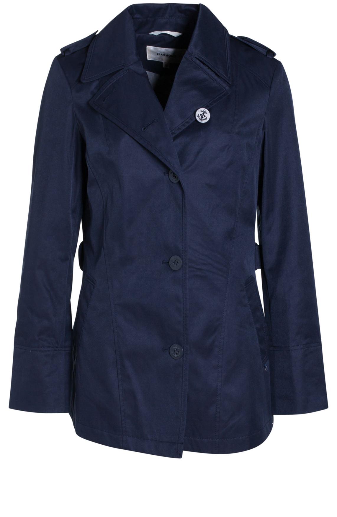 Beaumont Dames Korte jas blauw Blauw