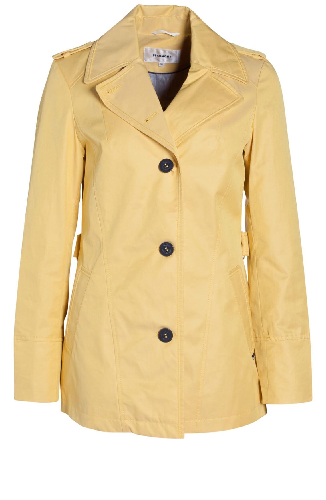 Beaumont Dames Korte jas geel geel