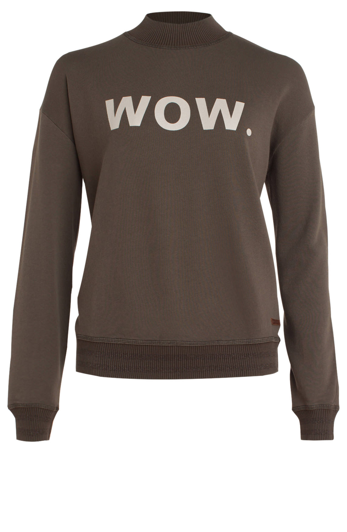Moscow Dames Sweater Wow. groen