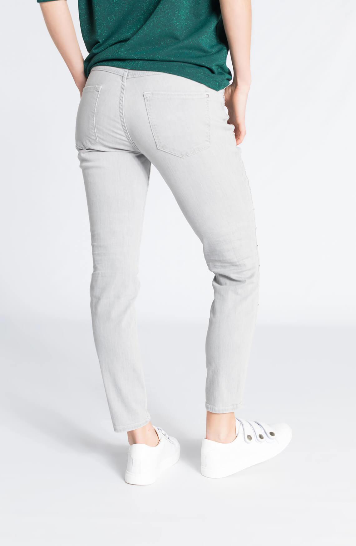 Rosner Dames Antonia jeans met studs Grijs
