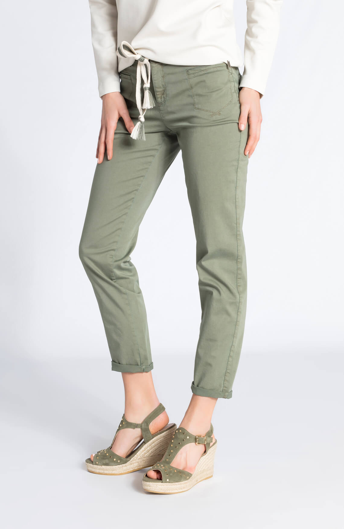 Rosner Dames Alisa casual broek groen