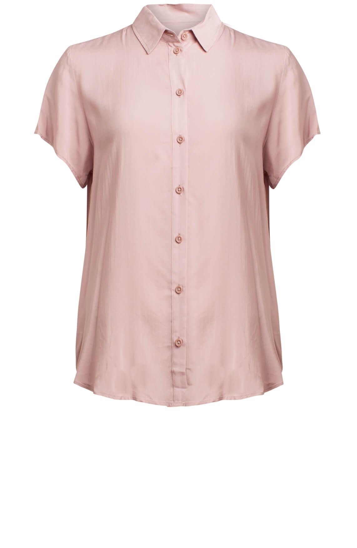 Samsoe Samsoe Dames Maj blouse roze roze