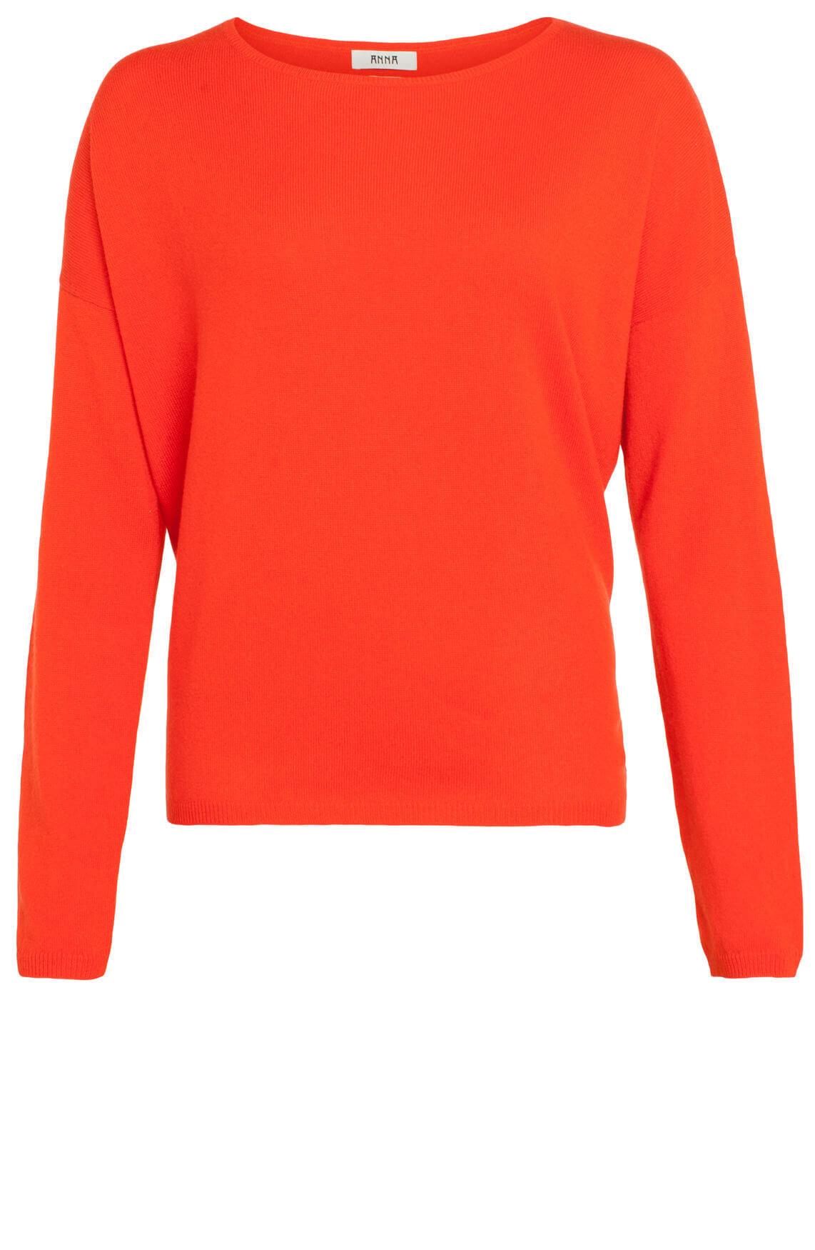 Anna Dames Cashmere pullover rood Rood