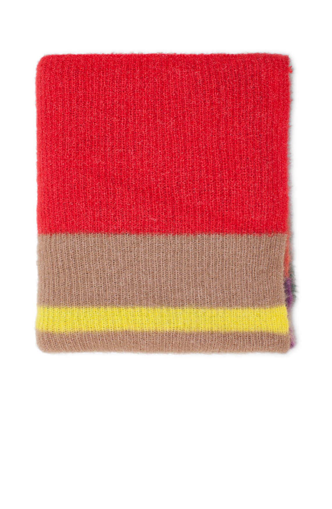 Codello Dames Colorblock shawl MultiColor