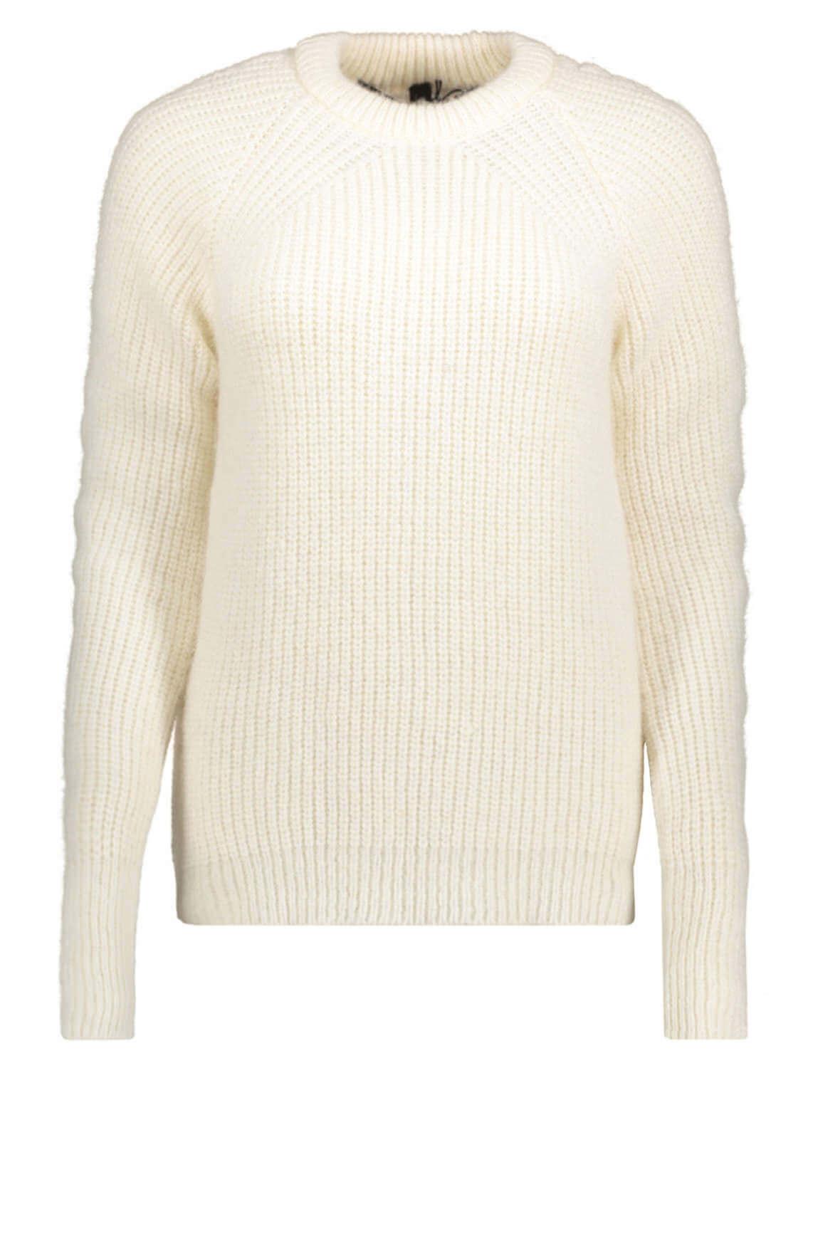 10 Days Dames Gebreide pullover wit