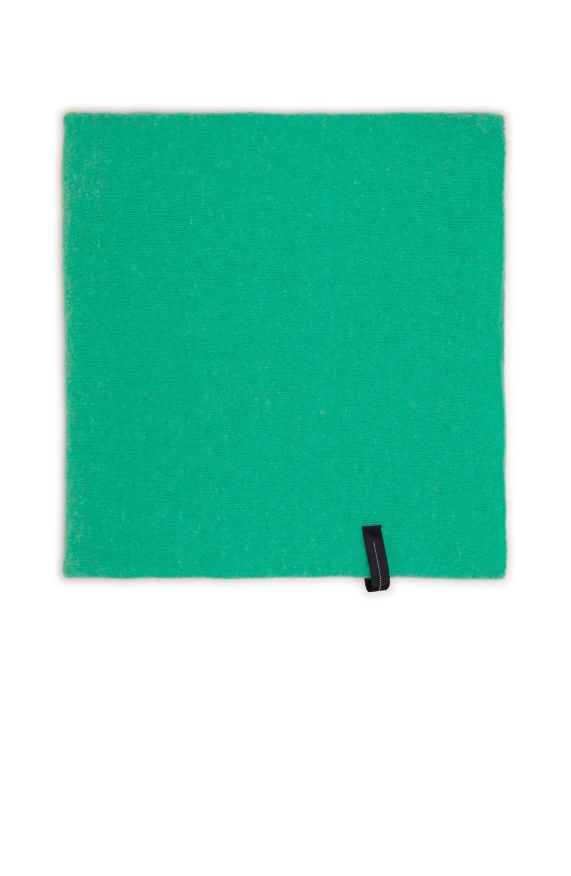 10 Days Dames Shawl met merinowol groen