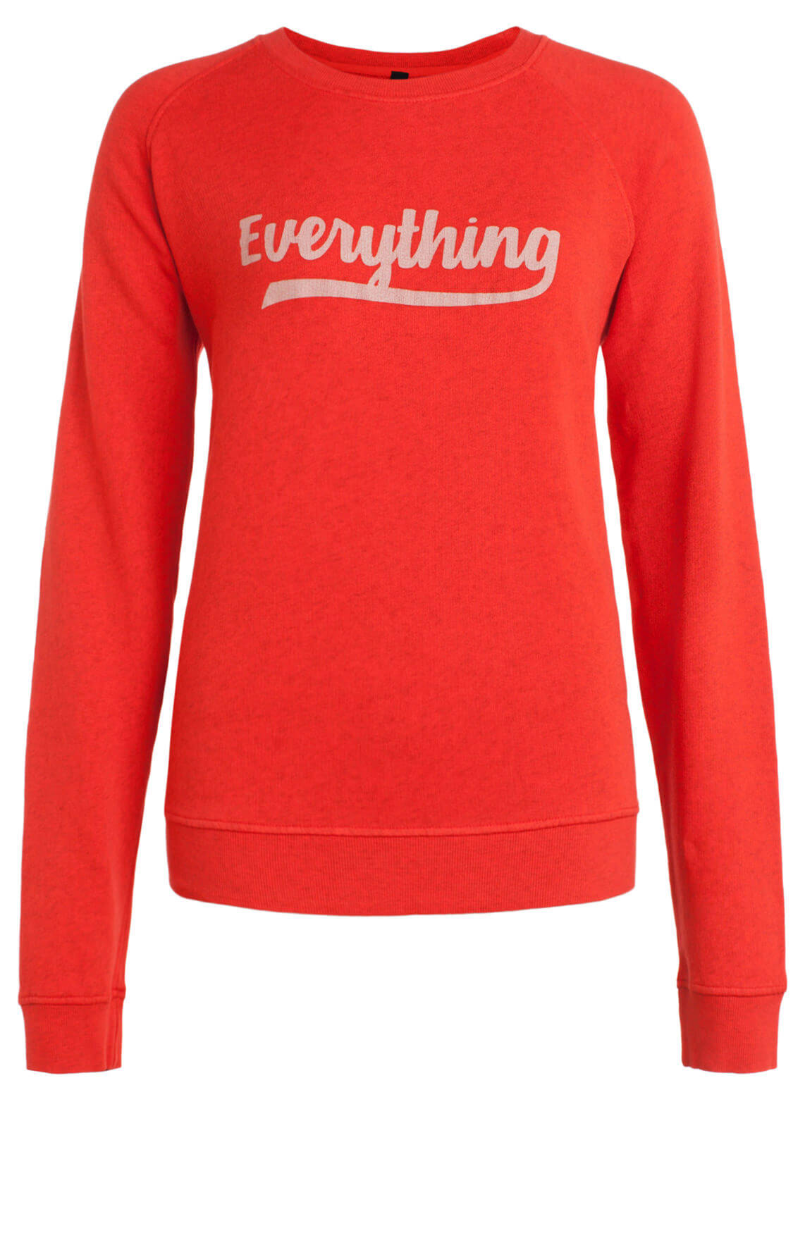 10 Days Dames Sweater met tekst Rood