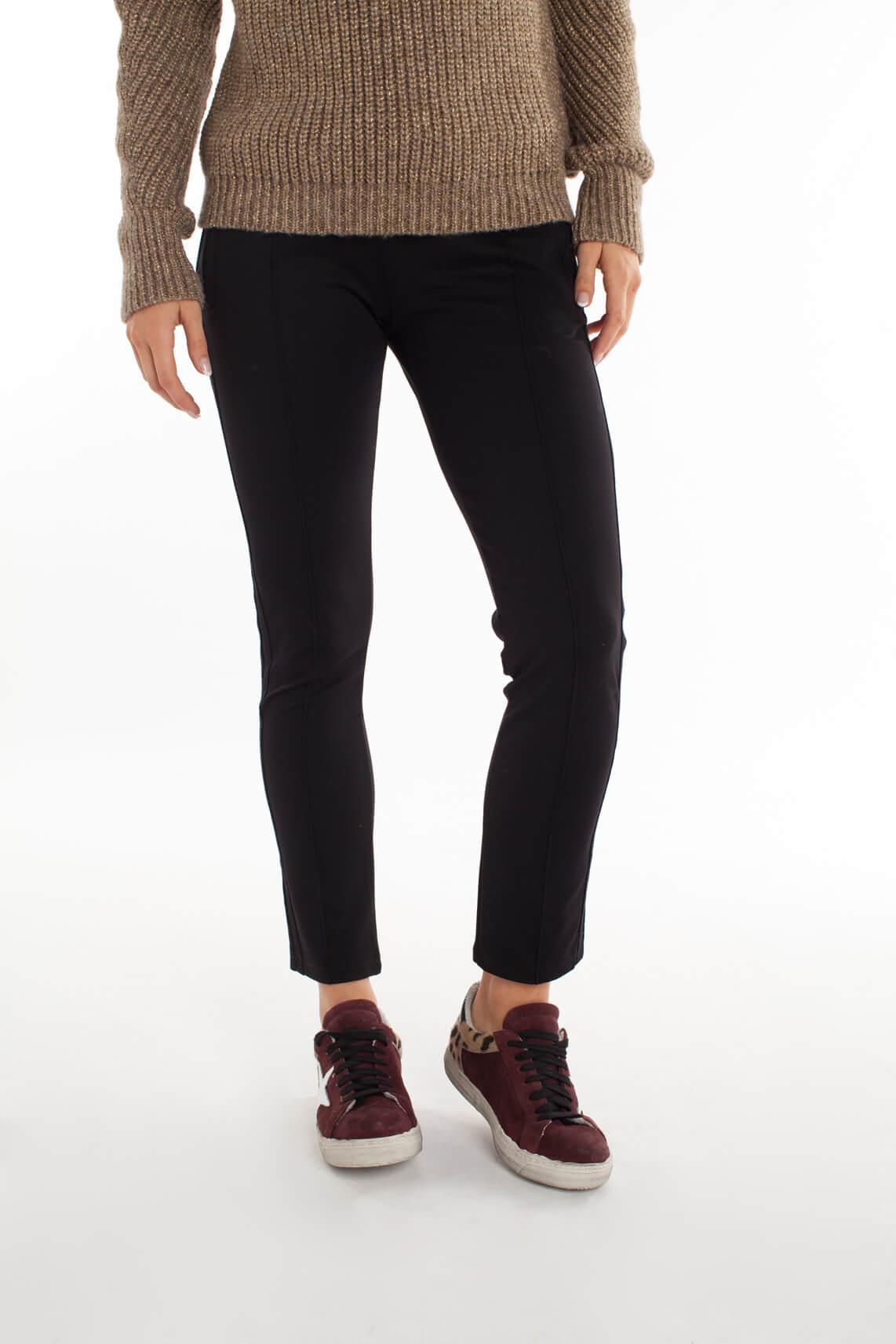 10 Days Dames Jogpantalon met ritszakken zwart